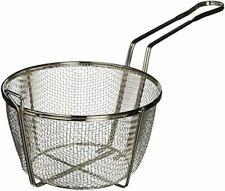 Winco Fbrs-8 Round Wire Fry Basket, 8-1/2-Inch, Medium, Nickel