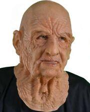 DOA Rubber Old Man Head Mask - Dress Fancy O Cosplay Halloween