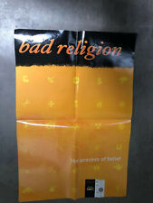 Big Bad Religion Process of Belief Poster Promo Poster Epitaph 24x36