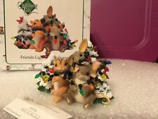 "Charming Tails ""Friends Light Up The Season"" Dean Griff Nib Christmas"