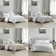 Brielle Home® Wesley 100% Cotton Matelasse Duvet Cover Set