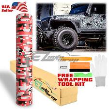 Digital Camouflage Camo Army Vinyl Sticker Car Wrap Decal Air Release Film