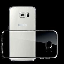 NUEVO Ultra Fino Transparente Claro Funda de silicona para Samsung Galaxy