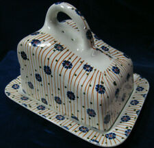 Societe Ceramique Maestricht Holland CHEESE DISH RARE
