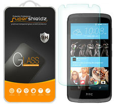 2X Supershieldz Tempered Glass Screen Protector Saver Shield For HTC Desire 526
