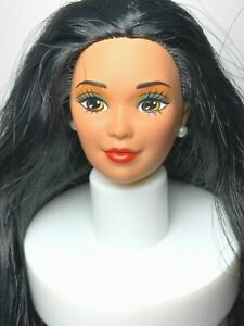 HEAD : KIRA / MIKO : ASIAN BARBIE DOLL : LONG HAIR : VINTAGE : OOAK : UNBOXED #9