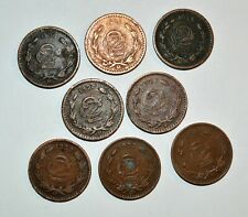 1906 - 1941 2 CENTAVOS vintage world MEXICO eagle snake lot bronze coins