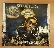 SEPULTURA 'RATAMAHATTA' - CD SINGLE WITH FIRST DAY COVER STAMP!