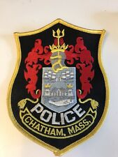 Vintage Police Patch Chatham. Mass.