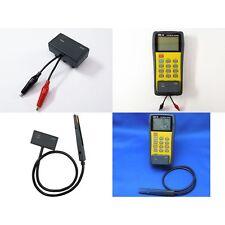 DER EE High Accuracy Handheld LCR Meter DE-5000  TL-21 TL-22 from Japan New
