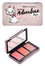 Disney❤️Marie Aristocats Cheek Blush Palette 3 shades Make up