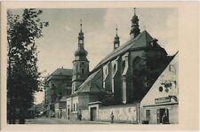 Jägerndorf Krnov Sudeten Partie mit dem Minoritenkloster Ansichtskarte 1925
