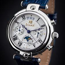 Buran Basilika Moon Phase Chronograph 31679 Poljot - Russian Watch Calendar