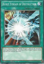 YU-GI-OH CARD: BURST STREAM OF DESTRUCTION - LDK2-ENK19 - 1st EDITION