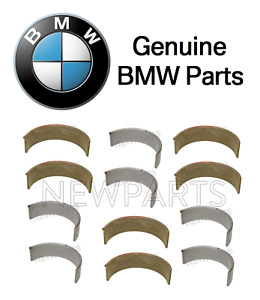 For BMW E46 M3 01-06 E36 Z3 01-02 12 x Rod Bearings-49.00 mm Standard Genuine