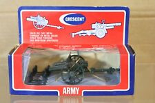 CRESCENT TOY 1249 WWI 18 POUNDER FIELD GUN CANNON MINT WINDOW BOXED nn