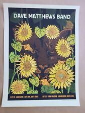 2013 Dave Matthews Band Dmb Johannesburg South Africa Lion Concert Poster 2013