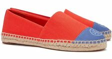 Tory Burch Shoes Color Block Espadrille Poppy Red Size 7 US Agsbeagle PAYPAL