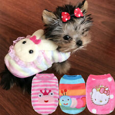 Teacup Chihuahua Dog Coat Clothes Puppy Outfit Size XXXS XXS XS for Yorkie Kitty