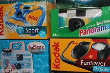Lot de 4 Pellicules photo couleur 400 film périmé appareil jetables Lomo graphie