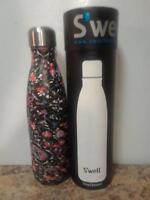 Swell Insulated Stainless Steel Water Bottle 17  oz  FORBIDDEN POSY