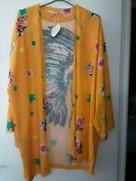 Veste kimono boheme Chantal b TU oversize made in Italy