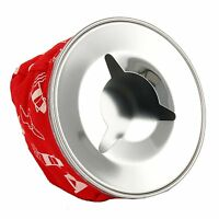 Nautical Non-slidingRed Stainless Windproof Bean Bag Ashtray for Boat,Auto,RV