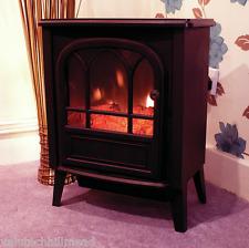 Limitless Electric Fireplace BLACK 53.5cm H x 42.5cm W x 25cm D