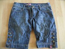 EDC by ESPRIT schöne gestreifte Jeans Shorts ONE Gr. 36   RJ1215
