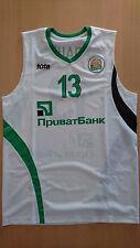 Camiseta baloncesto basketball jersey BC Kyiv Maxym Balashov Ukraine match worn