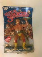 Rare vintage Hulk Hogan WWF LJN Wrestling Superstars MOC Figure 1984 Sport Titan
