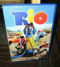 RIO ANIMATED DVD MOVIE, ANNE HATHAWAY, JESSE EISENBERG, GEORGE L. JUNGLE OF FUN