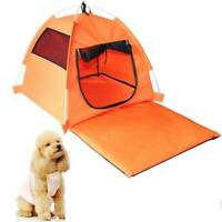 Foldable Pet Tent Cat Dog Bed Camping Sleeping Puppy Kitten House Nest Shelter