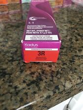 KADUS Professional Extra Rich Creme Permanent Hair Color 3R Dark Brunette Red