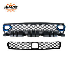 Dodge Charger Bezel Upper Lower Grille w/ Adaptive Cruise PCA Frostbite