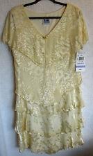 R&M RICHARDS Lined 100% Silk Dress Size 18 NWT