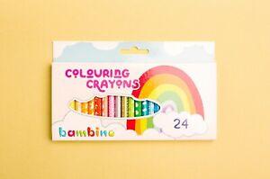 Alternative to Wax Crayons Pack of 24 - Bambino Crayons