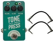 Barber Electronics Tone Press Parallel Compressor Pedal Bundle w/FREE Cable