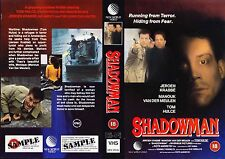 Shadowman, Jeroen Krabbe Video Promo Sample Sleeve/Cover #14352