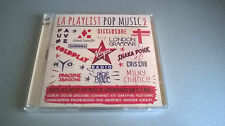 CD LA PLAYLIST POP MUSIC VOL. 2 : COMPIL (2 CD)