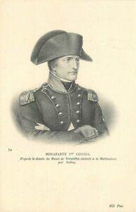 C-1910 Napoleon Bonaparte French General #50 Postcard 21-1830