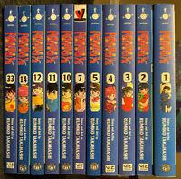 Ranma 1/2 1, 2, 3, 4, 5, 7, 10, 11, 12, 14, 33 Manga English Viz Inuyasha