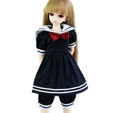 [wamami] 120# Camisa Azul Oscuro/Ropa/VESTIDO/SUIT/TRAJE 1/4 Mini Super Dollfie DOD BJD DOLLFIE