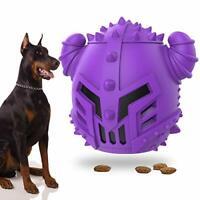 Dog Treat Dispensing Toy, Interactive Dog Toys Teething Tough Chew Toys