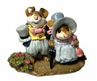 """Wee Forest Folk: """"Lord and Lady Mousebatten"""" Collectable, 1993, M-195"""