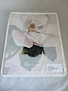 Ted Baker Opal Super King Size 260 x220cm Duvet Cover Blush Floral Cotton Sateen