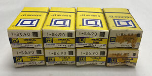 Square D B6.90 Overload Relay Lot Of 8 NOS