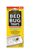 Harris Bbtrp All Natural Bed Bug Pest Traps With Lures Rev010612