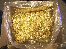 1000 Grams Gold Leaf Flake - 1 Kilogram - Huge Beautiful Flakes - Best Anywhere