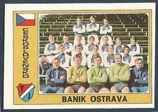 PANINI EURO 77 #021-CZECHOSLOVAKIA-BANIK OSTRAVA TEAM PHOTO